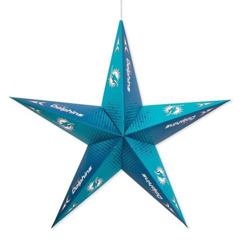 NFL Miami Dolphins Star Lantern - image 1 of 2
