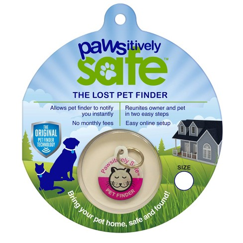 Platinum Pets® Pet Finder Cat Tag - Pink - image 1 of 4
