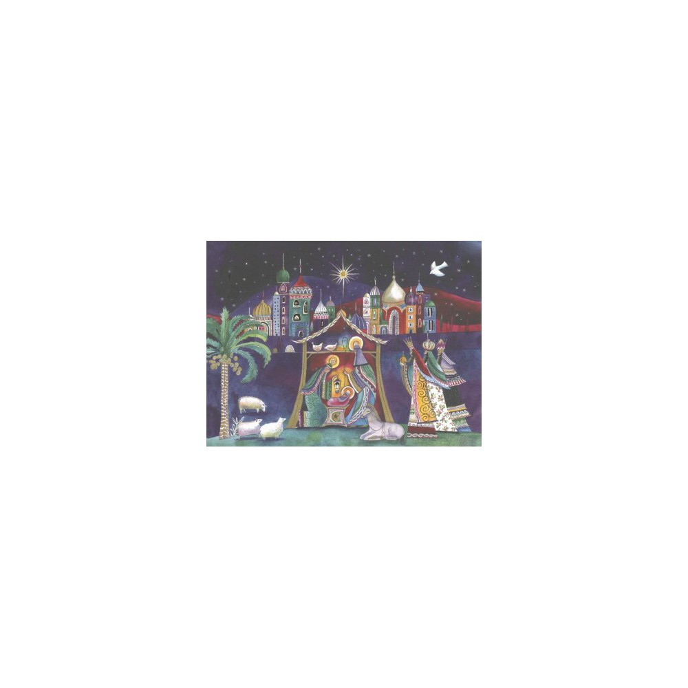 Nativity Deluxe Holiday Cards - (Stationery) Nativity Deluxe Holiday Cards - (Stationery)
