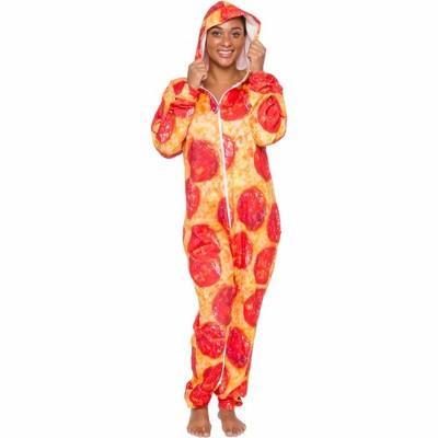 Funziez! Pepperoni Pizza Women's Novelty Union Suit