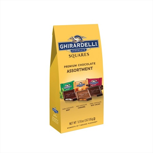 Ghirardelli Premium Assortment Chocolate Squares Gift Bag - 5.91oz - image 1 of 4