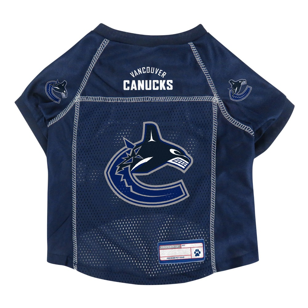 NHL Vancouver Canucks Pet Jersey - M, Multicolored