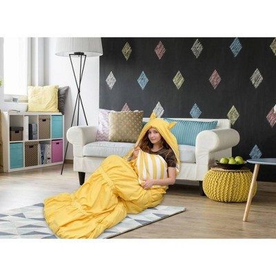 "32""x75"" Frankie Sleeping Bag Yellow - Chic Home Design"