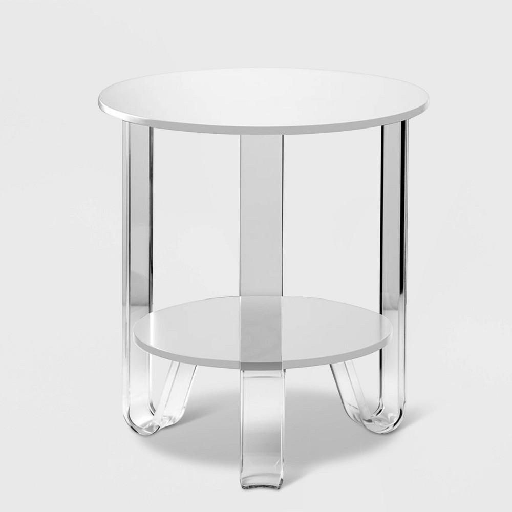Jordan Accent Table White - Adesso