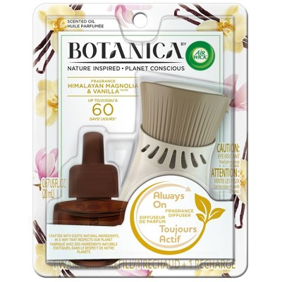 Botanica by Air Wick Scented Oil Kit Himalayan Magnolia & Vanilla
