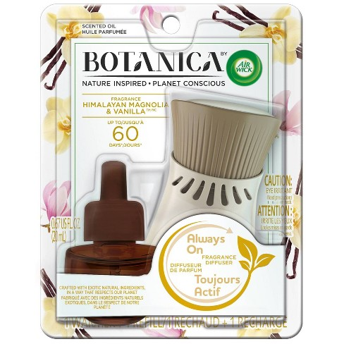 Botanica by Air Wick Scented Oil Kit Himalayan Magnolia & Vanilla - image 1 of 4
