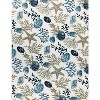 Kate Aurora Tropical Living Coral And Seashells Hypoallergenic Throw Blanket - Blue - image 3 of 4