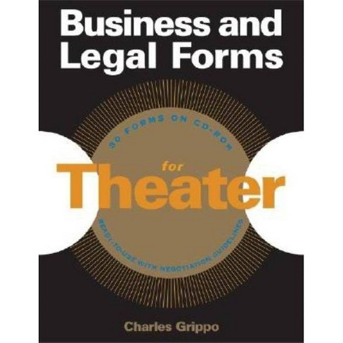 Business and Legal Forms for Theater - by  Charles Grippo (Mixed media product) - image 1 of 1