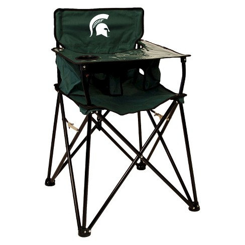 Tremendous Ciao Baby Michigan State Spartans Portable High Chair In Green Ocoug Best Dining Table And Chair Ideas Images Ocougorg
