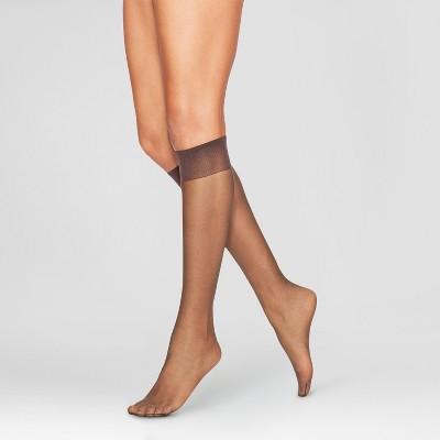 Legg's Women's Extended Size Everyday 8pk Knee Highs