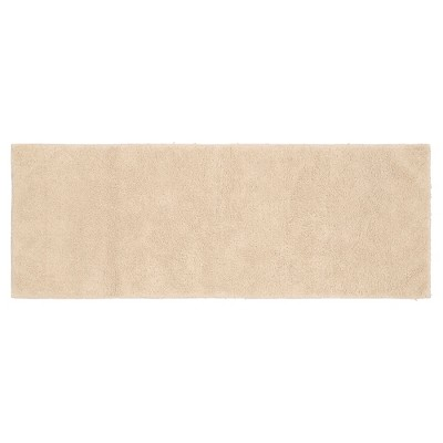 Garland Queen Cotton Washable Bath Runner - Natural (22 x60 )