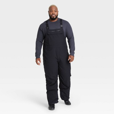 Men's Snow Sport Bib with 3M™ Thinsulate™ Insulation - All in Motion™ Black