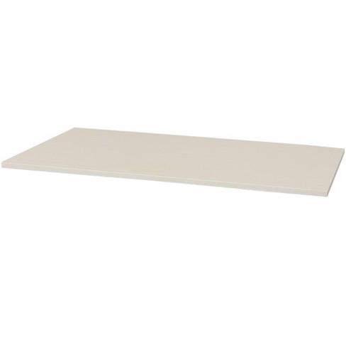 """CASL Brands 59"""" x 29"""" Desk Top for Standing Desks - Whitewash Finish - image 1 of 3"""