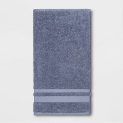 Performance Bath Sheet Solid Water Blue - Threshold™