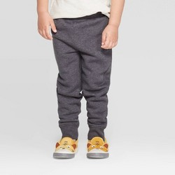 Toddler Boys' Fleece Jogger Pants - Cat & Jack™ Charcoal