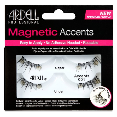 Ardell Accent 001 Magnetic Eyelashes Black - 1pr - image 1 of 5