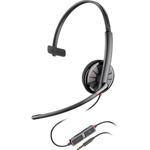 35333ed2083 Plantronics Blackwire C215 Headset - Mono - Mini-phone - Wired ...