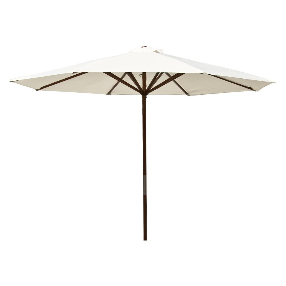 Image of Parasol Classic Wood Market Umbrella 9' - Natural