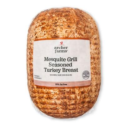 Mesquite Grill Seasoned Turkey Breast - Deli Fresh Sliced - price per lb - Archer Farms™