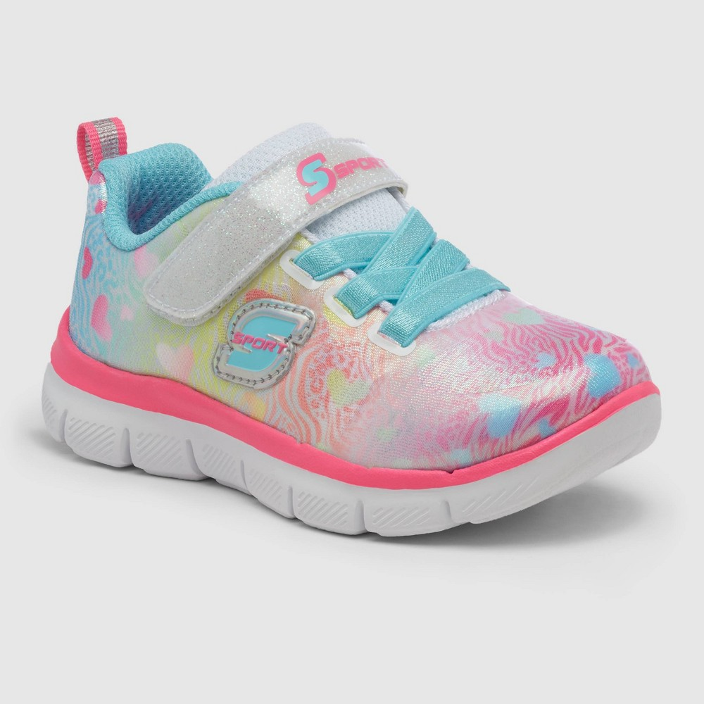 Toddler Girls 39 S Sport By Skechers Jasy Apparel Sneakers 8