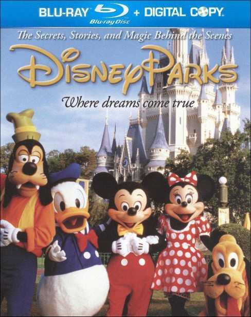 Disney Parks: The Secrets, Stories, Magic Behind the Scenes (Includes Digital Copy) (Blu-ray/DVD) - image 1 of 1