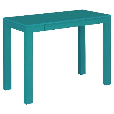 George Desk with Drawer - Teal - Room & Joy