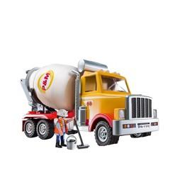 Playmobil Cement Truck, mini figures