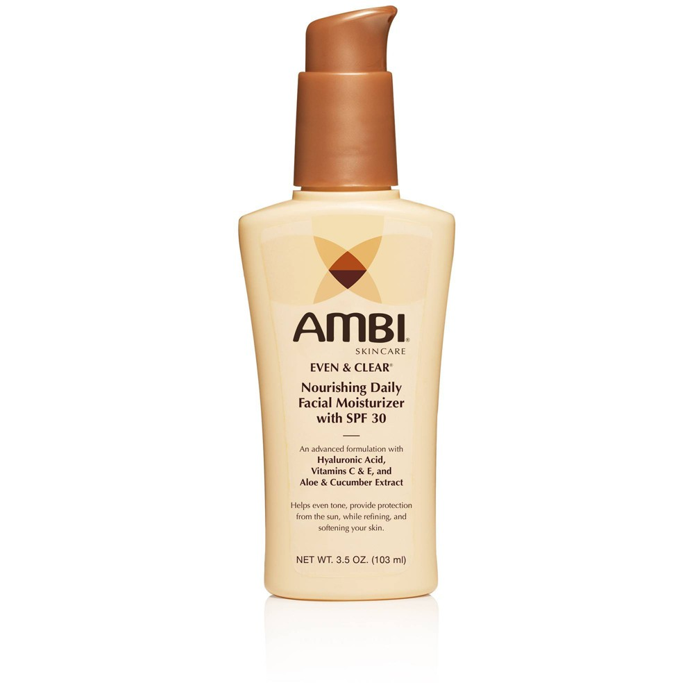Ambi Even And Clear Daily Facial Moisturizer Spf 30 0 35oz
