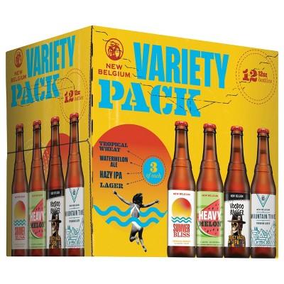 New Belgium Beer Variety Pack Beer - 12pk/12 fl oz Bottles