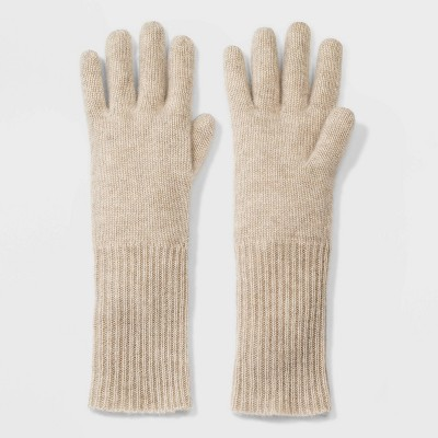 Women's Cashmere Gloves - A New Day™ One Size