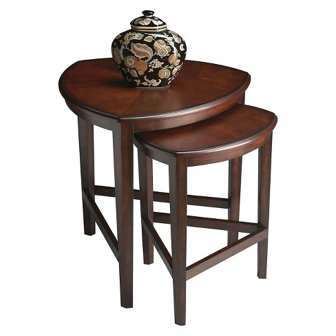 Finnegan Nesting Tables Brown - Butler Specialty - image 1 of 2