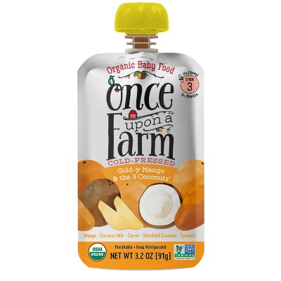 Once Upon a Farm Gold-y Mango and the Three Coconuts - 3.2oz