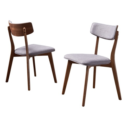Chazz Mid-Century Dining Chair (Set of 2) - Christopher Knight Home - image 1 of 4