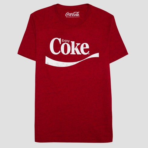 80f3f11da Men's Coca-Cola Short Sleeve Graphic T-Shirt - Chinese Red : Target