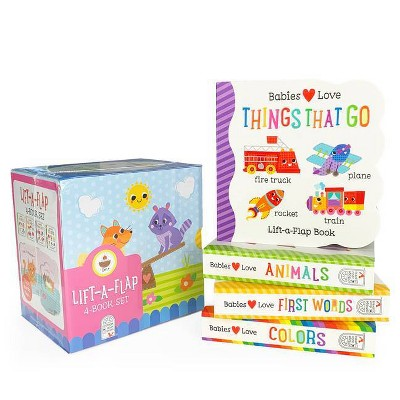Babies Love Learning - (Lift a Flap Boxed Set)by Scarlett Wing & Michelle Rhodes-Conway (Board Book)