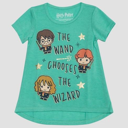 1be00bdaf Toddler Girls' Harry Potter Short Sleeve T-Shirt - Turquoise 18M ...