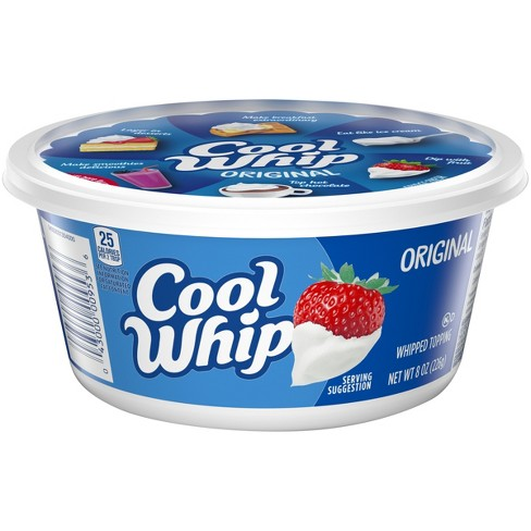 Cool Whip Original Frozen Whipped Topping - 8oz - image 1 of 3