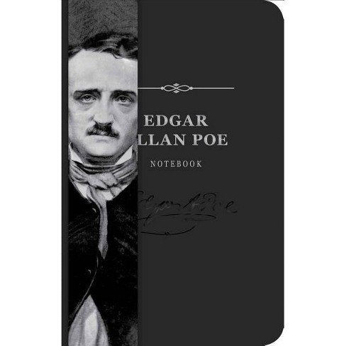 Edgar Allan Poe Signature Notebook - by  Cider Mill Press (Leather_bound) - image 1 of 1