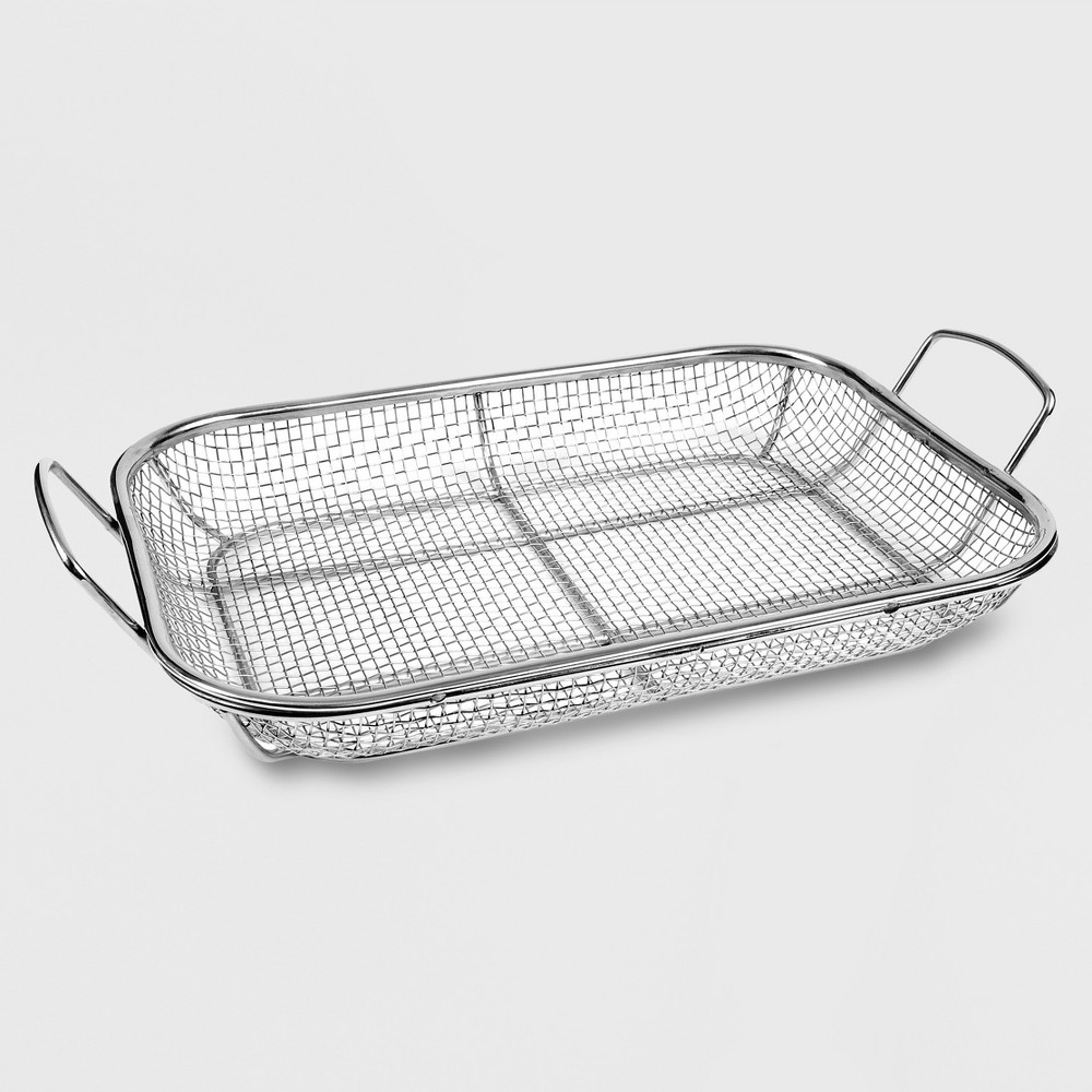 Image of Charcoal Companion Wire Mesh Roasting Grill Pan