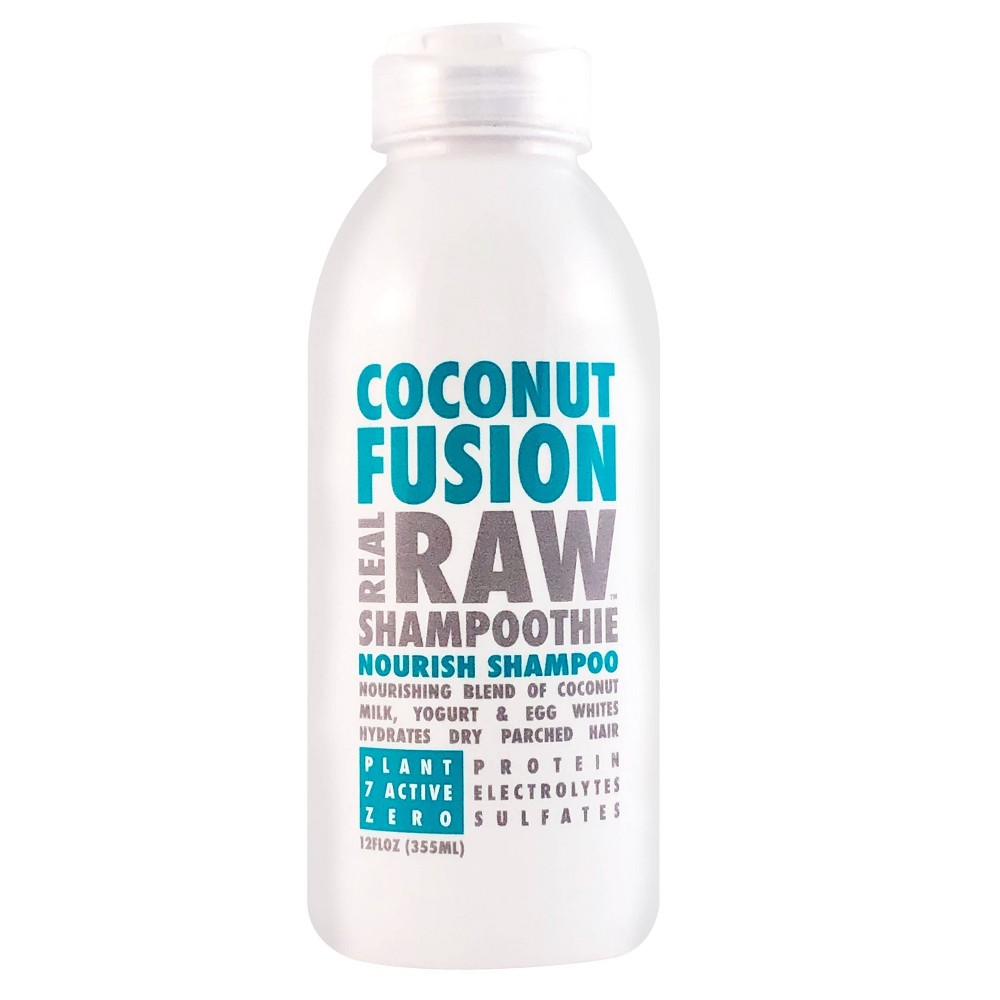 Image of Real Raw Shampoothie Coconut Fusion Nourish Shampoo - 12 fl oz