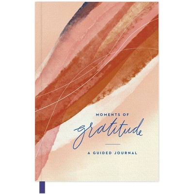 Guided Journal Softcover Sewn Moments of Gratitude - Green Inspired