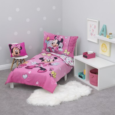 Mickey Mouse U0026 Friends Minnie Mouse Toddler 4pc Bedding Sets : Target