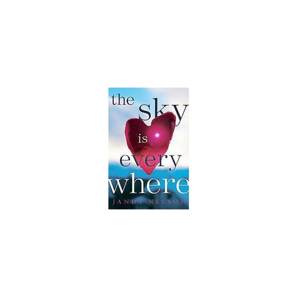 Sky Is Everywhere (Hardcover) (Jandy Nelson) Seventeen-year-old Lennie Walker, bookworm and band geek, plays second clarinet and spends her time tucked safely and happily in the shadow of her fiery older sister, Bailey. But when Bailey dies abruptly, Lennie is catapulted to center stage of her own lifeand, despite her nonexistent history with boys, suddenly finds herself struggling to balance two. Toby was Bailey's boyfriend; his grief mirrors Lennie's own. Joe is the new boy in town, a transplant from Paris whose nearly magical grin is matched only by his musical talent. For Lennie, they're the sun and the moon; one boy takes her out of her sorrow, the other comforts her in it. But just like their celestial counterparts, they can't collide without the whole wide world exploding. This remarkable debut is perfect for fans of Sarah Dessen, Deb Caletti, and Francesca Lia Block. Just as much a celebration of love as it is a portrait of loss, Lennie's struggle to sort her own melody out of the noise around her is always honest, often hilarious, and ultimately unforgettable.