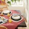 """10"""" 4pk Stoneware Pointed Sun Dinner Plates White - Opalhouse™ designed with Jungalow™ - image 2 of 4"""
