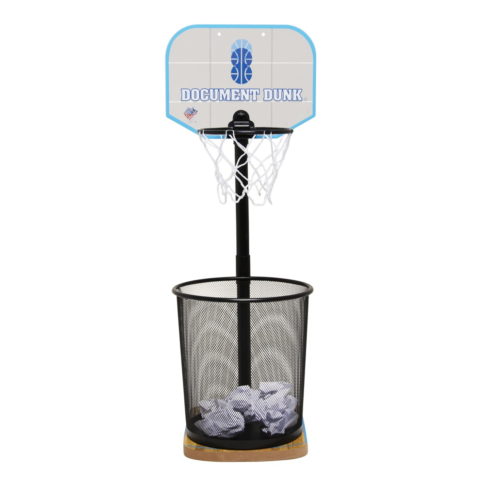Image of Basketball Hoop for Waste Basket - Document Dunk, Multi-Colored