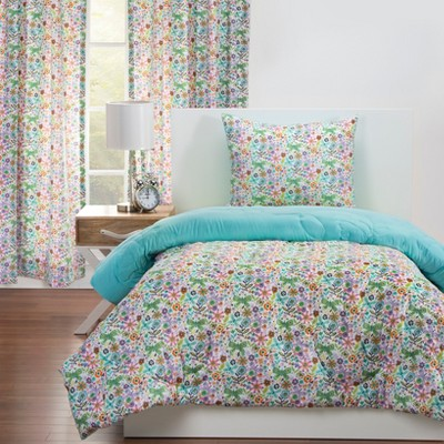 Twin Reversible Comforter & Sham Set - Crayola