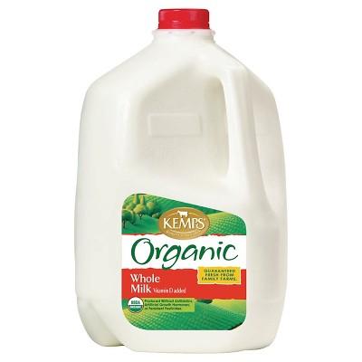 Kemps Organic Whole Milk - 1gal