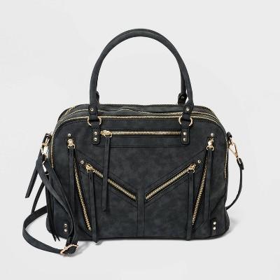 VR NYC Satchel Handbag - Black