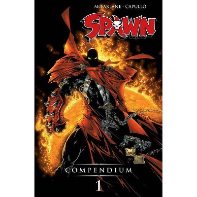 Spawn Compendium, Color Edition, Volume 1 - by  Todd McFarlane & Alan Moore & Grant Morrison & Frank Miller (Paperback)