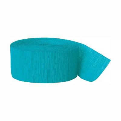 Turquoise Crepe Streamer - Spritz™